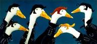 Ducktails  Fine Art Print