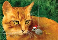 Catnip Christmas Art