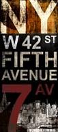 NY 7th  Fine Art Print