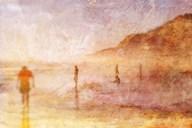 Summer Beach 2  Fine Art Print