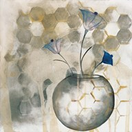 The Blue Flower II  Fine Art Print