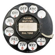 Rotary Dial  Fine Art Print