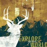 Explore Your World 4  Fine Art Print