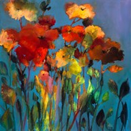 Blue Flower  Fine Art Print