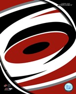 Carolina Hurricanes 2013 Team Logo  Fine Art Print