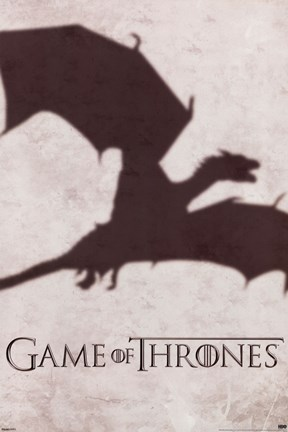 Framed Game of Thrones - Dragon Shadow Print