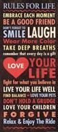 Life - quote  Fine Art Print