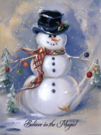 Snowman Magic Art