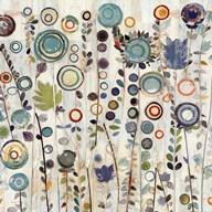 Ocean Garden I Square  Fine Art Print