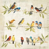 Adoration of the Magpie Music  Fine Art Print