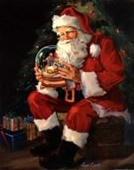 Santa Believes  Fine Art Print
