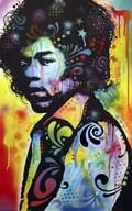 Hendrix  Fine Art Print