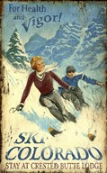 Ski Colorado  Fine Art Print