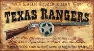 Texas Rangers  Fine Art Print