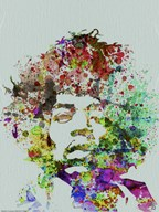 Hendrix Watercolor  Fine Art Print