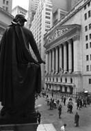 Wall Street 3  Fine Art Print