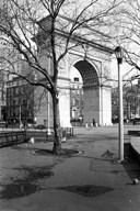 Arc de Triomphe in Washington Square Park  Fine Art Print