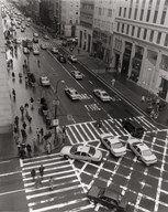 Aerial View 5th Ave NYC  Fine Art Print