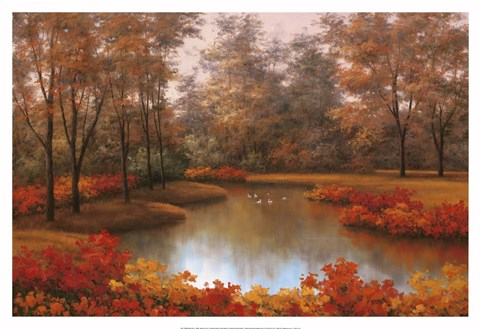 Framed Beauty of Autumn Print