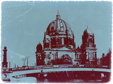 Framed Berlin Cathedral Print