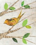 Birds in Spring II  Fine Art Print