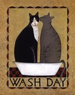Wash Day  Fine Art Print