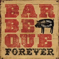 Barbeque Forever Art