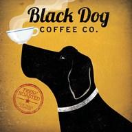Black Dog Coffee Co.  Fine Art Print