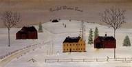 Peaceful Winter Land  Fine Art Print