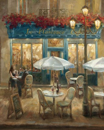 Paris Cafe I Fine Art Print By Danhui Nai At