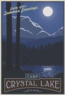 Camp Crystal Lake  Fine Art Print
