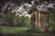 Fragrant Outhouse  Fine Art Print