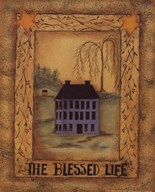 The Blessed Life  Fine Art Print