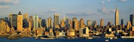 Hudson River, City Skyline, NYC, New York City, New York State, USA Art