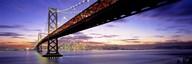 Bay Bridge at Twilight  Fine Art Print