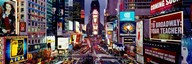 High angle view of traffic on a road, Times Square, Manhattan, New York City, New York State, USA  Fine Art Print