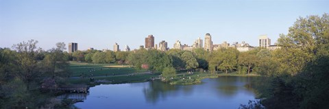 Framed Central Park, Upper East Side, NYC, New York City, New York State, USA Print