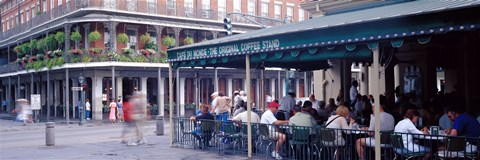 Framed Cafe du Monde French Quarter New Orleans LA Print