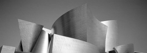 Framed Low angle view of a building, Walt Disney Concert Hall, City of Los Angeles, California, USA Print