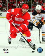 Henrik Zetterberg 2013-14 Action Art