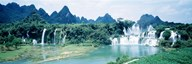 Detian Waterfall, Guangxi Province, China Art