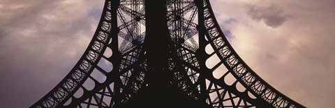 Framed Close-Up of Eiffel Tower Print
