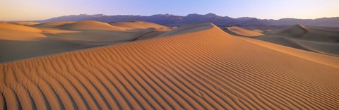 Framed Sand Dunes in Death Valley National Park, California Print