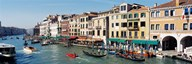 High angle view of a canal, Grand Canal, Venice, Italy Art