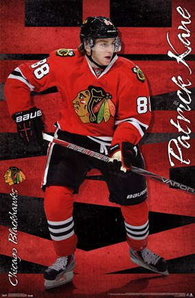Framed Chicago Blackhawks® - P Kane 13 Print