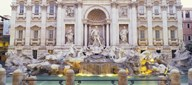 Trevi Fountain Rome Italy Art
