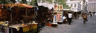 Flea market at a roadside, Greenmarket Square, Cape Town, Western Cape Province, Republic of South Africa Art