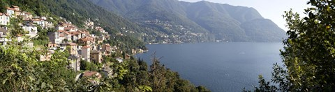 Framed View of Lake Como Print
