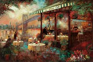 The River Cafe  Fine Art Print