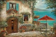 Ombrello Rosso  Fine Art Print